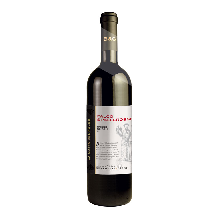 2019 Falco Spalle rosse Rosso Umbria IGT