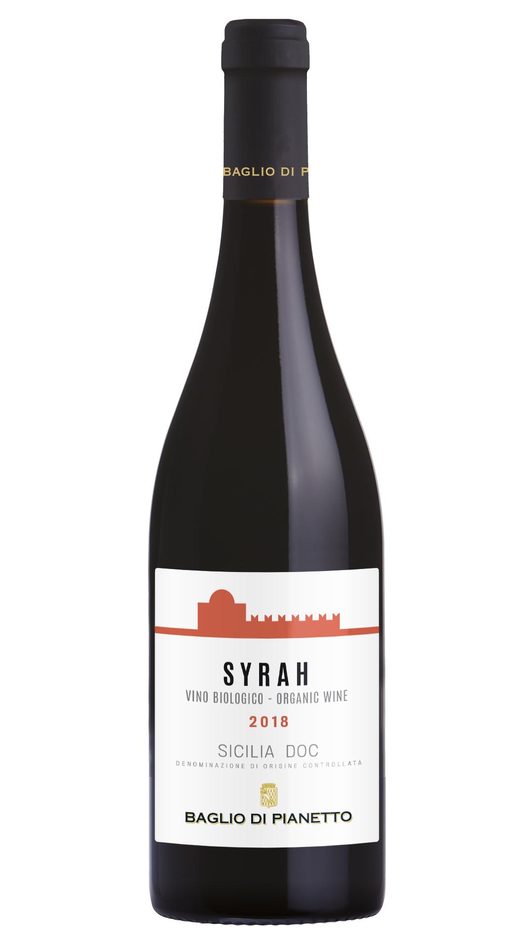 2017 Syrah Y Sicilia IGT BIO