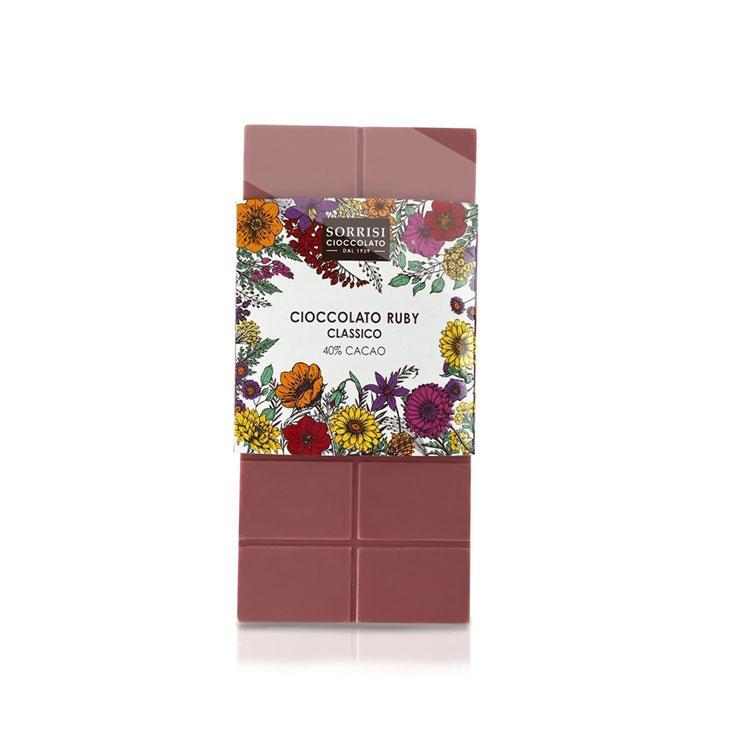 Cioccolato Ruby 100g