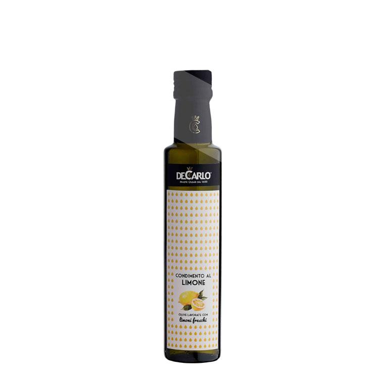 """Olio aromatizza al limone """"Elisir"""" olio extra vergine di oliva"""
