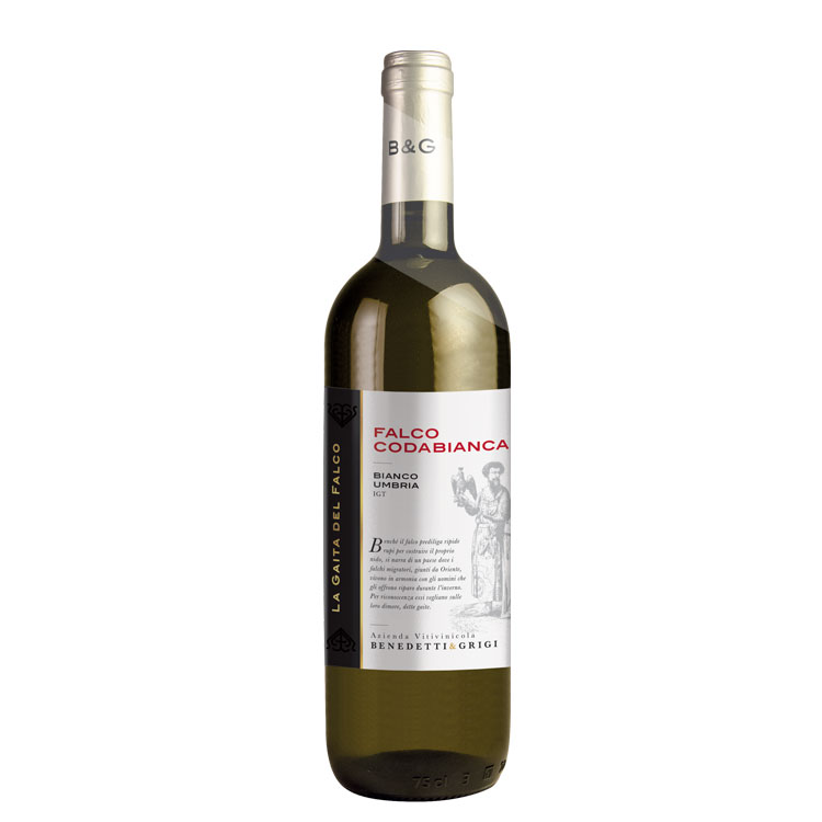 2020 Coda bianca Bianco Umbria IGT