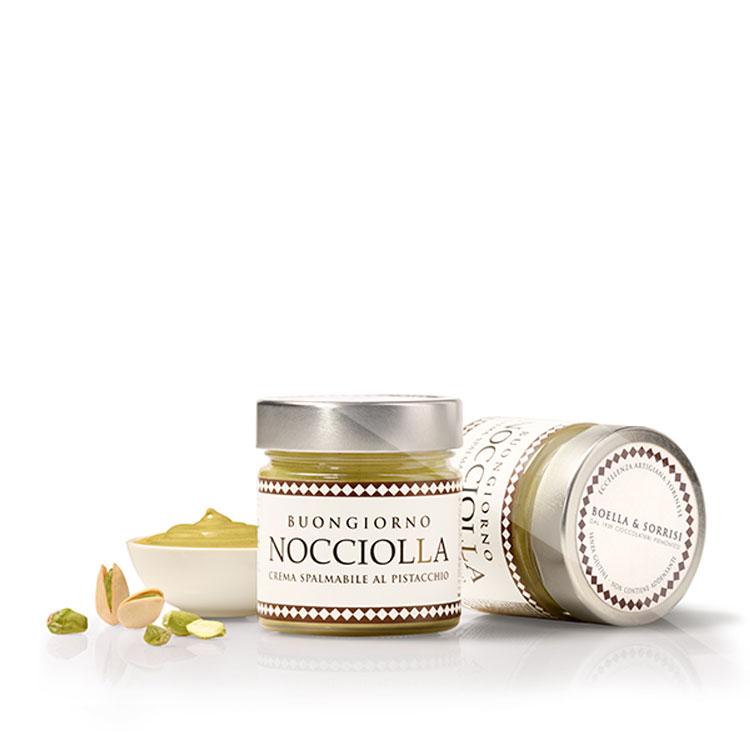 Nocciolla crema spalmabile al pistacchio 250g