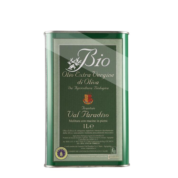 Valparadiso Olio extra vergine BIO 1,0 L Lattina