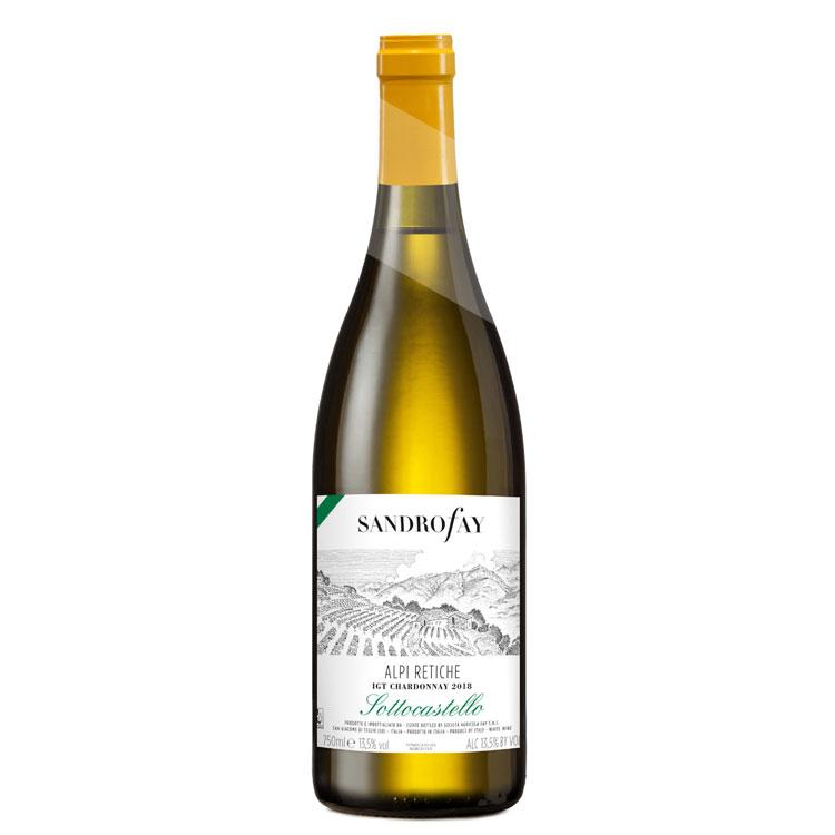 2018 Alpi Retiche IGT Chardonnay 'Sottocastello'