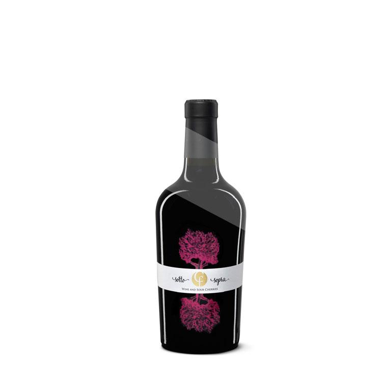 i sotto sopra vino aromatizzato all'amarena
