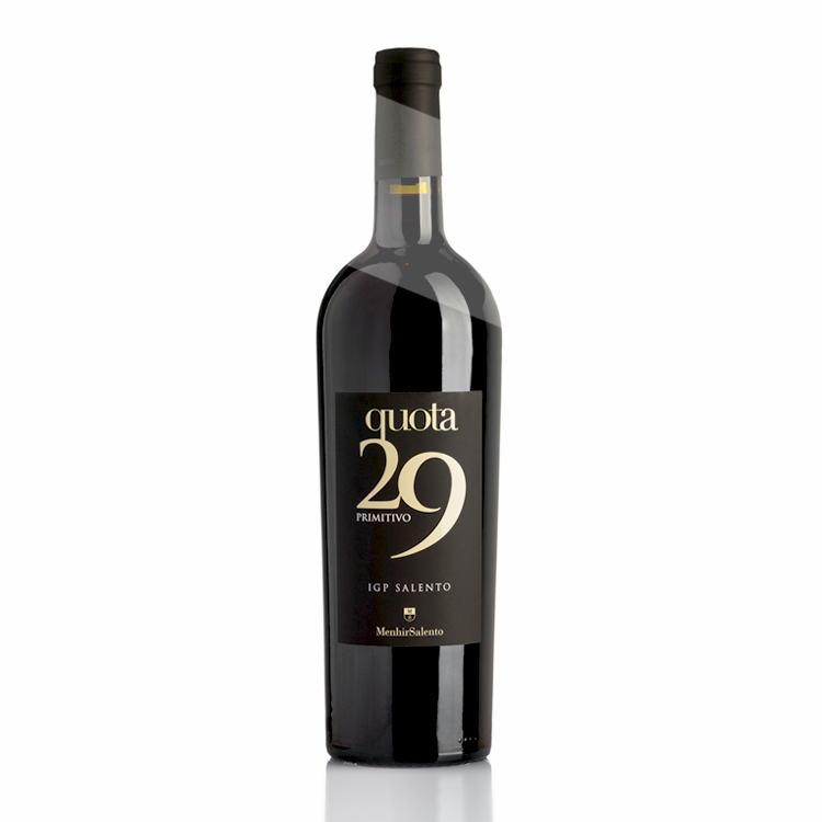 2019 Quota 29 Primitivo IGT Salento