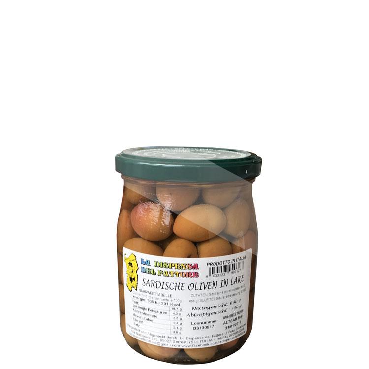 Olive Sarde in salamoia 320g