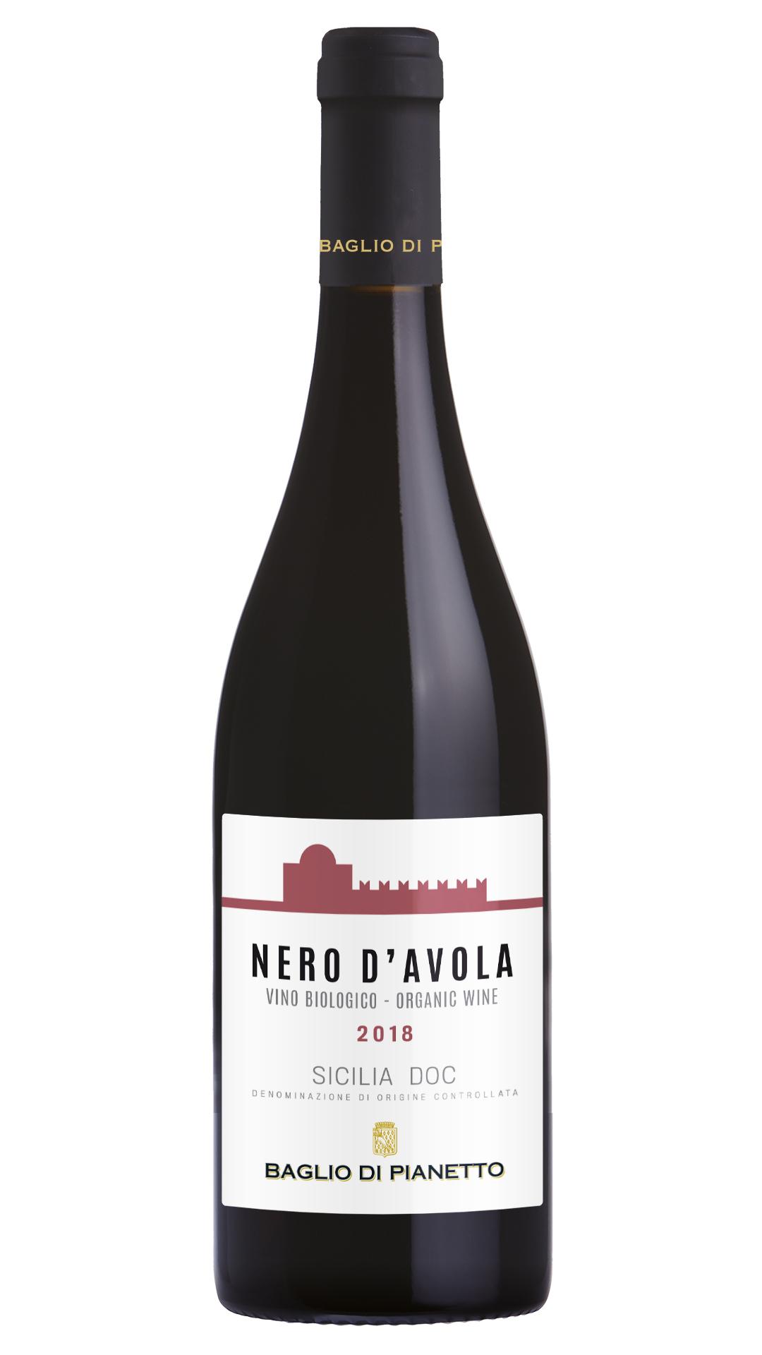2019 Nero d'Avola Sicilia DOC BIO