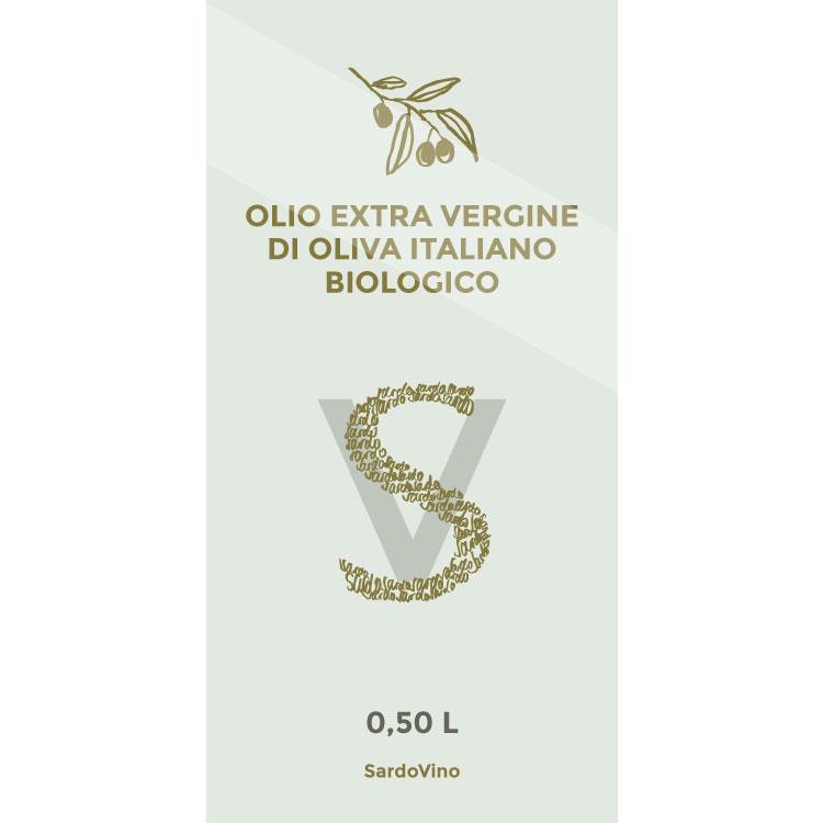 SardoVINO Olio extra vergine BIO 0,50l