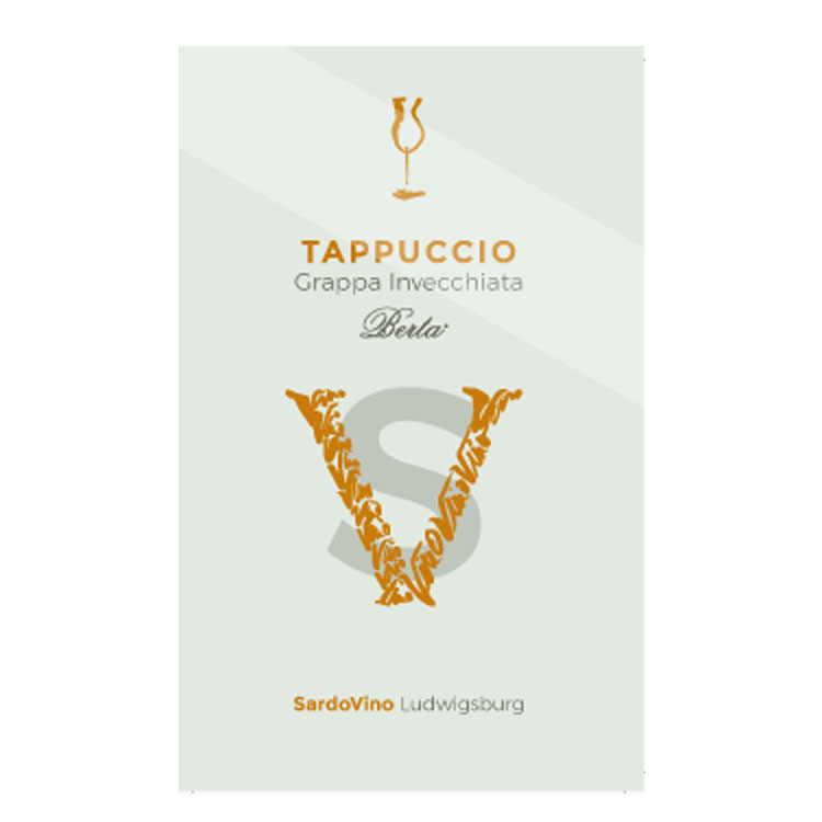 Tappuccio Grappa invecchiata by Berta, 43%